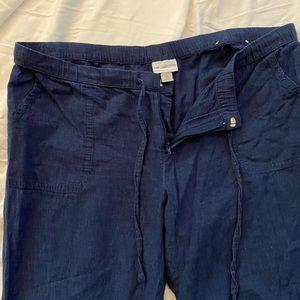 Super cute lightweight linen feel pants